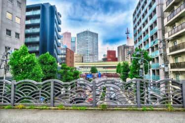 上台橋の案内板【神奈川宿歴史の道その1】
