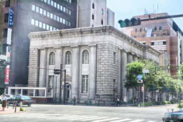 今では東京藝術大学の立派な石造り旧富士銀行横浜支店