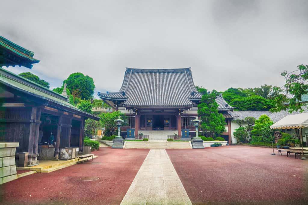 本覺寺外観