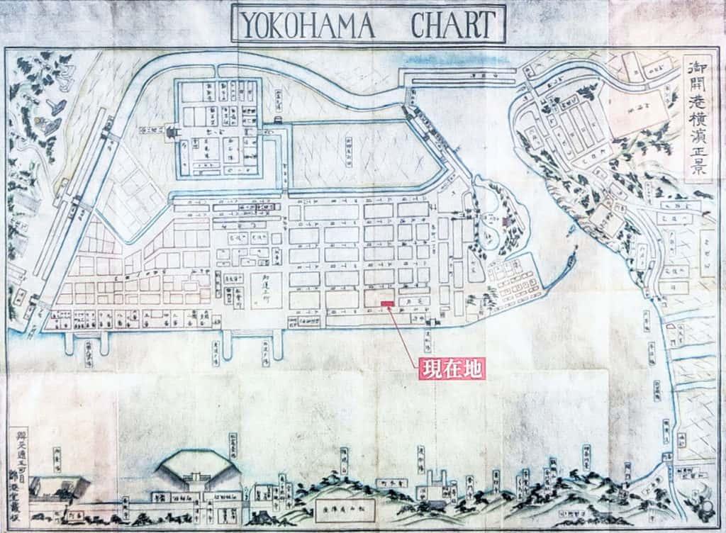 元浜町の地図