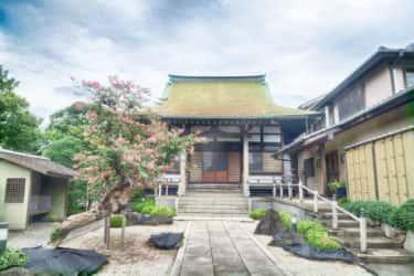 良泉寺の案内板【神奈川宿歴史の道その27】