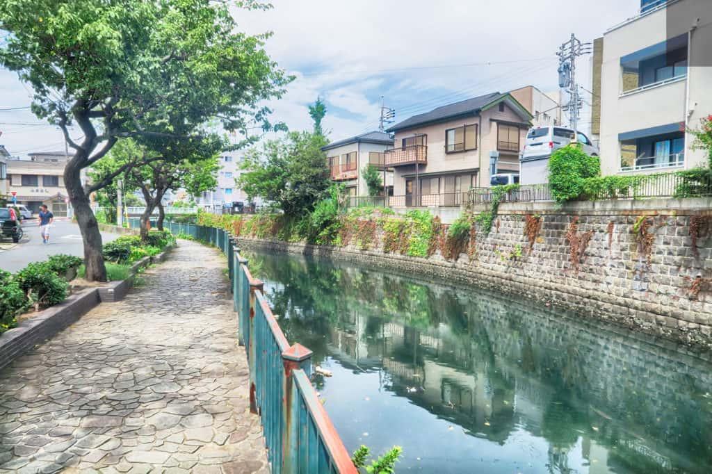 滝ノ橋と本陣跡