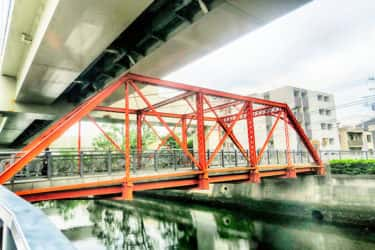 日本最古のトラス橋は南区役所の裏にある浮舟水道橋
