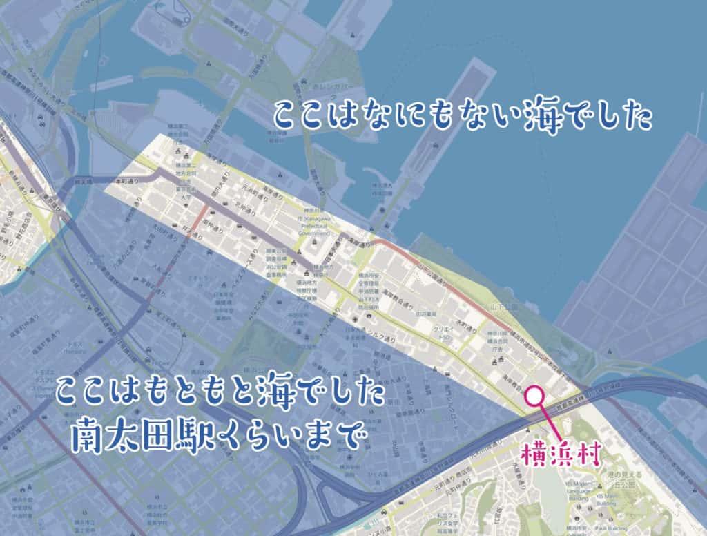 埋立前の地図
